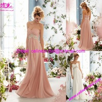 Exquisite Retro  Empire Strapless Sweetheart  Floor length Lace Bride Wedding Dresses 2014 Like Purity Princess