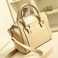 2014 women's handbag fashion crocodile pattern handbag women's shoulder bag vintage handbag briefcase