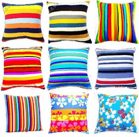 40 cm*40 cm thickening 100% cotton cushion cover pillow cover sofa cushion cover set pillow cases, Many flower-shaped to choose
