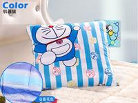 Free Shipping Cartoon Doraemon Cushion Quilt Chair Cushion Blanket Blue Cotton High Quality Gift for Kids New Arrival