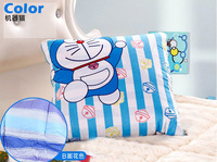Free Shipping Cartoon Doraemon Cushion Quilt Chair Cushion Blanket Blue Cotton High Quality Gift for Kids New Arrival
