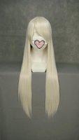 Straight Movie Unisex-adult Wigs 32inch (Cream)