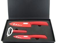 3pc Ceramic peeler knife sets