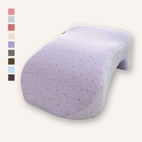 free shipping 32x23x12cm novelty gift memory foam pillow safety snaps (purple cover)