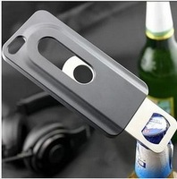 New hot sale Beers Bottle Opener hard mobile cell case Aluminum cover for ipone i phone5 5g 4 4s 5c 5s Inner Stainless Steel