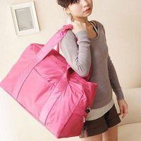 Hot sell Large capacity travel bag 2012 nylon handbag luggage fashionable casual sports bag gym bag  Free shipping