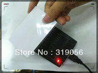 RFID reader/13.56MHZ IC card reader with usb interface +free shipping+plug&play reader+rfid text card