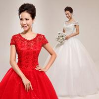 2013 winter plus size wedding dress mm slit neckline with sleeves lace princess sexy wedding qi