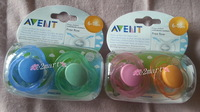 Free Shipping Free Shipping New avent 6 breathable baby placate nipple 6 - 18 scf17824 a pair