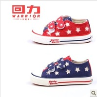 2013 WARRIOR male girls shoes 1620 86022 child canvas shoes