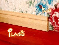 iland 1:12 Dollhouse miniature molding wood trim baseboard skirt board 4 PCS OA002C