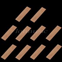 Free Shipping Natural Clarinet Neck Cork Sheet 2mm Bb Clarinet Joint Cork Clarinet Neck Cork ,10PCS