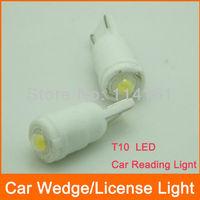 10pcs/lot High power T10 Car LED Wedge Light dome Lamp luggage light car reading light
