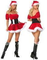 Free shipping stage loading seal waist word led Christmas costume ball DS costumes uniforms temptation to appeal lingerie