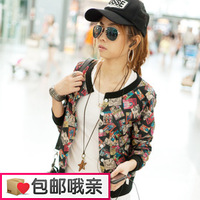 Long-sleeve coat female spring and autumn 2013 casual cardigan fashion all-match design short outerwear