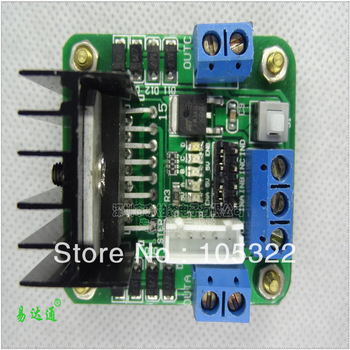 Free shipping new & high quality L298 L298N motor driver board stepper motor DC motor driver Module