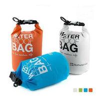 Super Light!76g 2Pcs/Lot  Waterproof Bags Buggy Dry Bag For Canoe Kayak Rafting Camping Beach Swimming Mini Order 2L