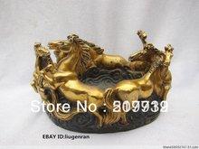 popular antique bronze horse statue