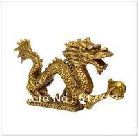 free P&P***** Chinese tibet brass Dragon figurine Statue Decoration