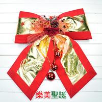 Christmas decoration Large bow christmas decoration christmas tree christmas fabric bow