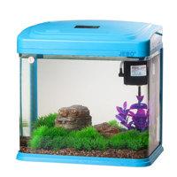 Jebo mini small glass fish tank water aquarium 231d