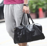 2013 man bag the trend of fashionable casual backpack multifunctional handbag messenger bag large bag unisex