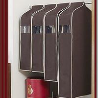 Thickening of coffee three-dimensional overcoat dust cover suit three-dimensional dust cover e155