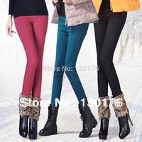 Punk Sale Women Leggings New 2014 Winter Big Elastic Thickening Pencil Female Skinny Legging Pants Trousersthicken Dress Jeans