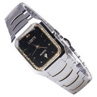 Whole tungsten steel sapphire male watch stainless steel commercial watch waterproof mens watch fashion table