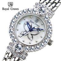 Watch female royal crown vintage watch rhinestone table ladies watch