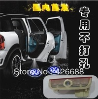 VW Original Naante super cool Logo Car Auto Special Supper Door Lamp Welcome Light for VW octavia;lavida;Touran;caddy2005