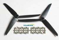 "10pcs of 3 Blades 7x3.5"" CW/CCW  RC Quadcopter Propeller 7035 5pcs and 7035R 5pcs Gamfan Brand  Free Shipping"