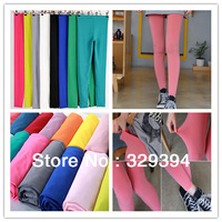 Free shipping!11 colors, winter new Korean candy color high elastic milk silk fashion lady pantyhose / leggings /