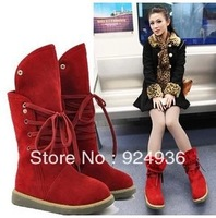 Free Shipping Two Wear Flat With Snow Boots In The Winter To Keep Warm Martin Boots Tide Female Boots
