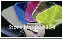 Free shipping 10pcs/lot Wholesale Magic Non slip sticky pad anti slip mat Car Anti slip Pad Washable