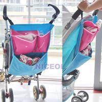 NI5L Baby Toddler Pushchair Storage Bag Prams Stroller Pouch Shopping Organizer