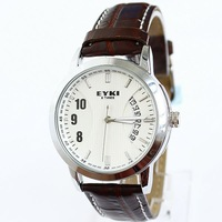 new 2013 Original E-Times EYKI Men's Women's Sports Watch real Calendar Male hour Free shipping Dropshipping