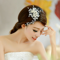 The bride accessories phoeni pearl all-match pearl handmade hair maker hair accessory the wedding hair accessory accessories