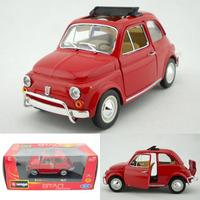 Fiat 500l Bburago Alloy Car Model Gift
