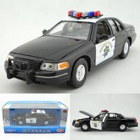 Wyly FORD police car alloy car model gift decoration