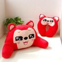 Hyraxes peach lumbar pillow kaozhen lumbar support lovers pillow trainborn household gift