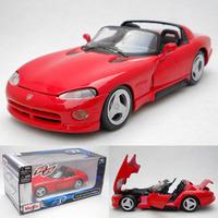 Dodge viper 1995 alloy car model gift Christmas Present