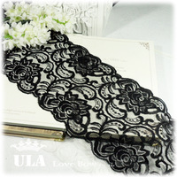 Ula diy handmade accessories ultra wide vintage exquisite flower lace decoration 13cm
