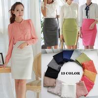 2013 new spring and summer women's bust skirt OL skirt  Slim pencil skirt ol skirt women high waist office skirt
