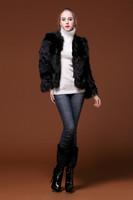 New  short design fox fur coat fox fur  women clothing fashion trends   winter rabbit fur women  clothing of cultivate  morality