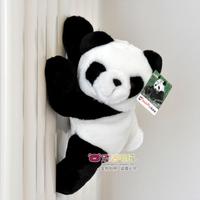 Pandaway magnet plush toy panda doll cute refrigerator stickers birthday gift