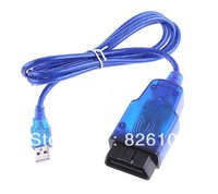 OPEL Tech2 obd2 obdii to USB interface diagnostic cable for opel car 1997 to 2004 free postal service shipping