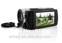 16Mp max 5Mp CMOS Sensor 1080p Full HD Digital Video Camera with 3 inch Touch Screen and Lithium Battery, Free Shipping