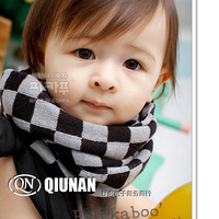 winter baby sale2013 autumn and winter new Korean version of the diamond lattice South scarves scarf wild childchildren accessor