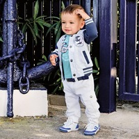 2014 Newest Spring Three-Piece Kids Clothes Set Children Clothing Suit Baby Boys Clothes Suit 1pcs/lot Free Shipping